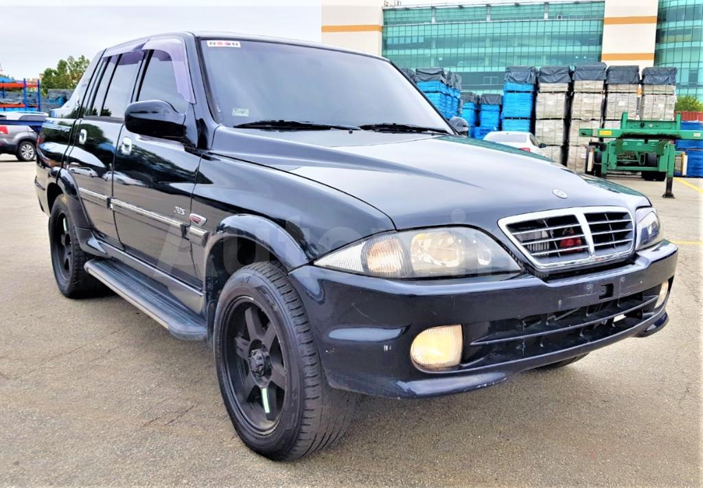 download Ssang Yong Musso workshop manual