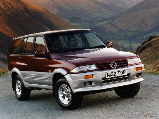 download SsangYong MJ workshop manual