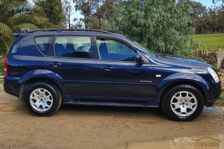 download SsangYong Rexton Y220 workshop manual