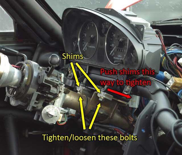 download Steering Column Shim workshop manual