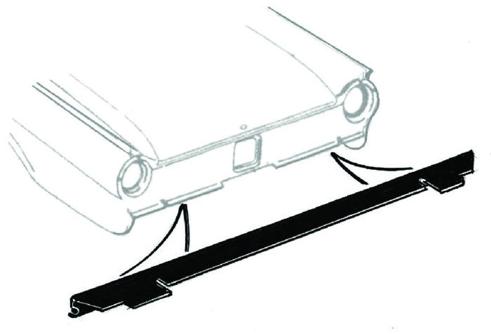 download Stone Deflector Rubber Between Rear Bumper Body workshop manual