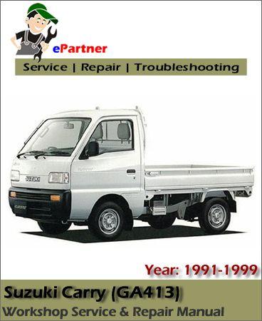 download Suzuki Carry GA413 workshop manual