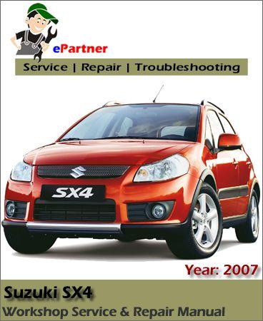 download Suzuki SX4 workshop manual