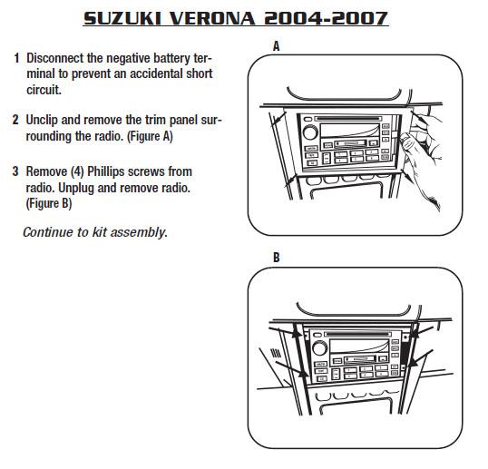 download Suzuki Verona workshop manual