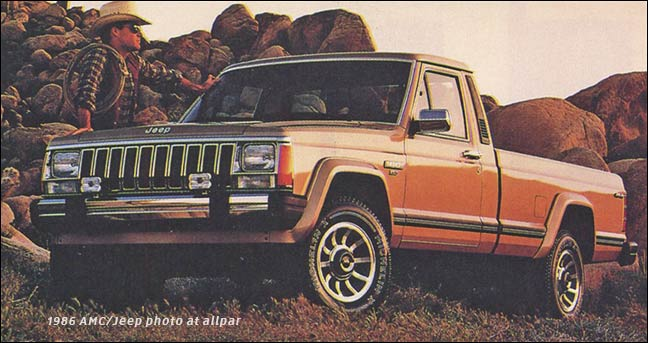 download The Jeep Comanche XJ workshop manual