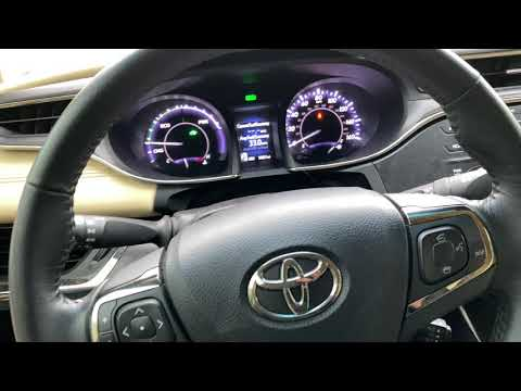 download Toyota Avalon workshop manual