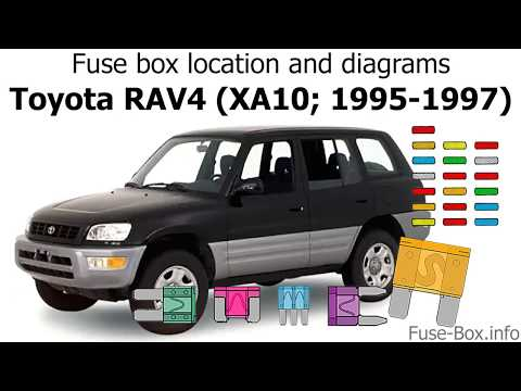 download Toyota RAV4 96 00 workshop manual