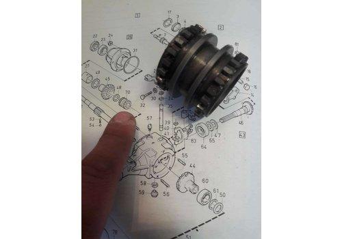 download VOLVO 343 345 Transmission workshop manual