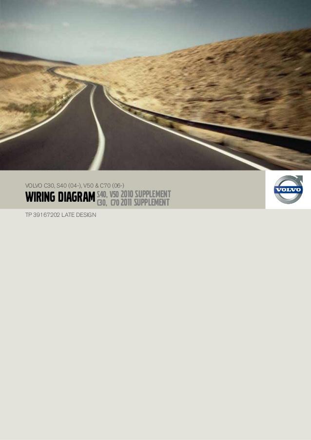 download VOLVO C30 S40 V50 C70 s workshop manual