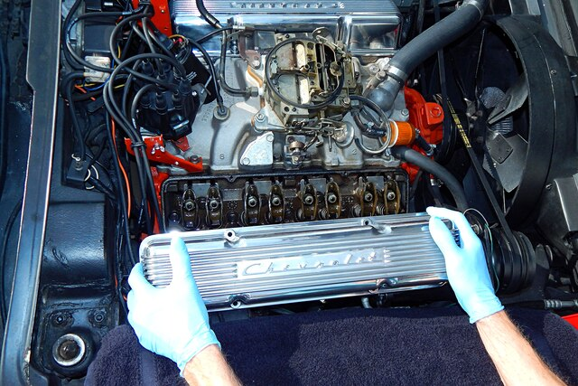 download Valve Covers Chrome 390 427 428 V8 With Oil Cap With Tube workshop manual