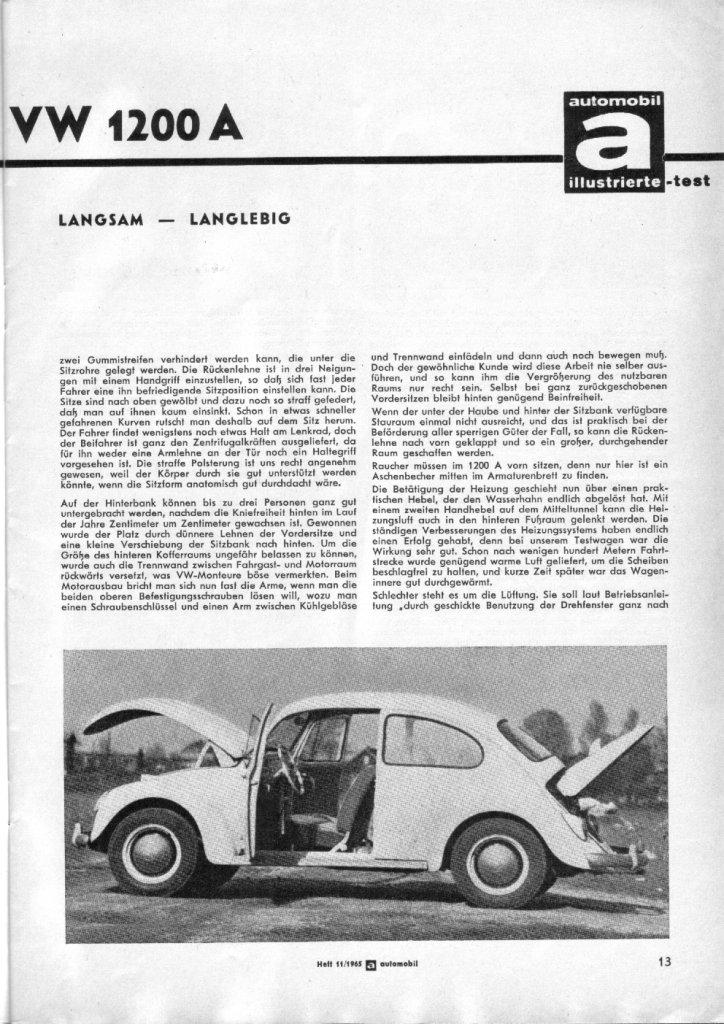 download Volkswagen 1200 workshop manual