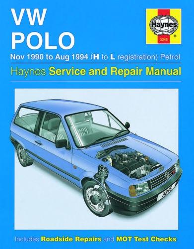 download Volkswagen Polo H to L registration workshop manual
